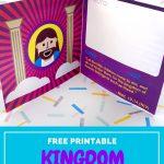 Kingdom Passport Craft | Biblecraftclub | Bible Crafts   Free Printable Bible Crafts