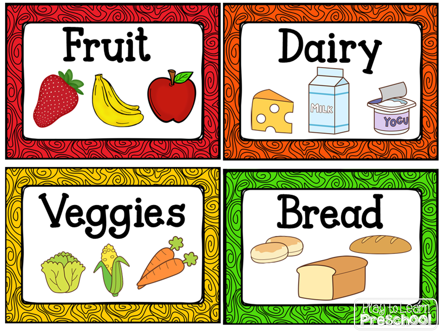 Kitchen Dramatic Play Center   Centers   Dramatic Play Centers, Play - Free Printable Play Food Labels