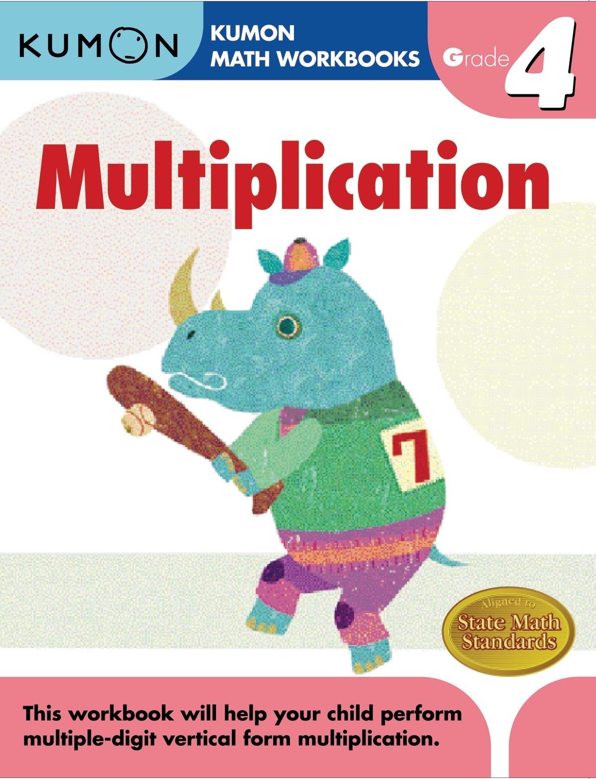 Kumon Publishing   Kumon Publishing   4Th Grade - Free Printable Math Workbooks