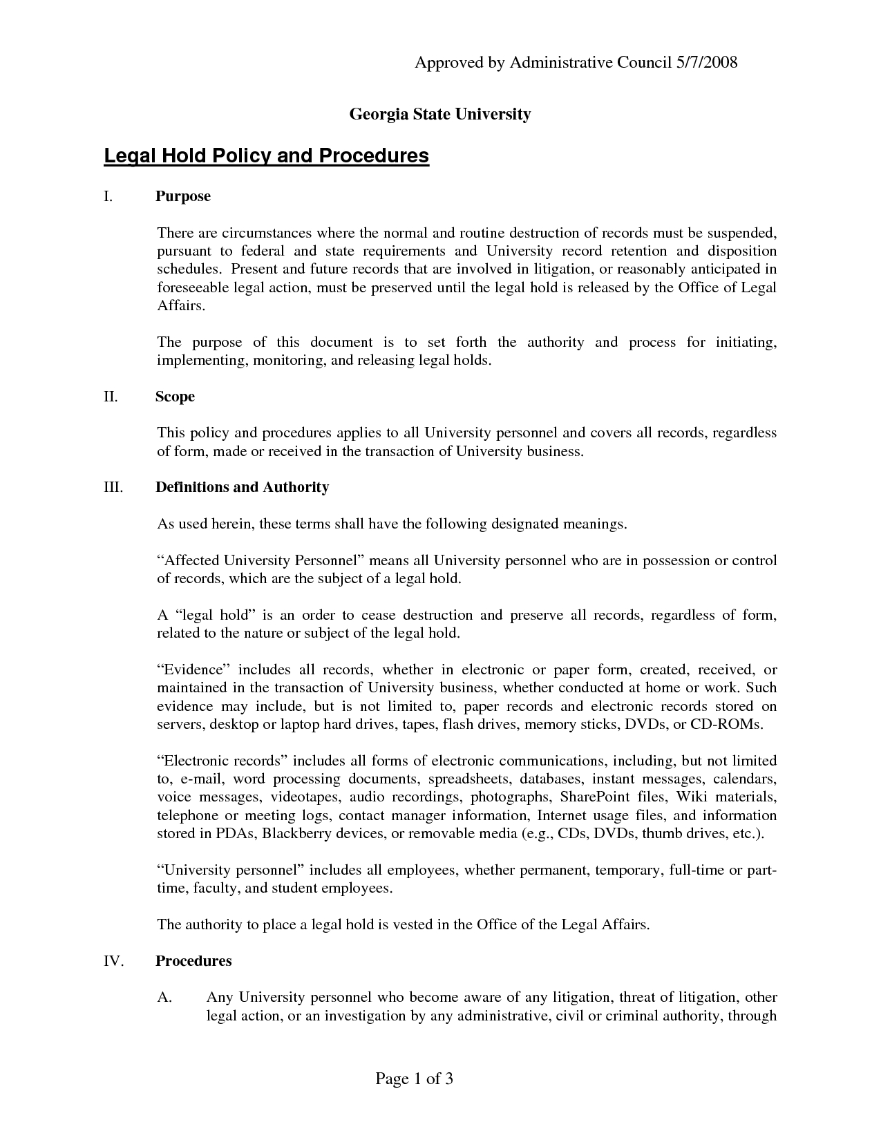 Legal Document Template Approvedadministrativeswo64313 - Free Printable Legal Documents