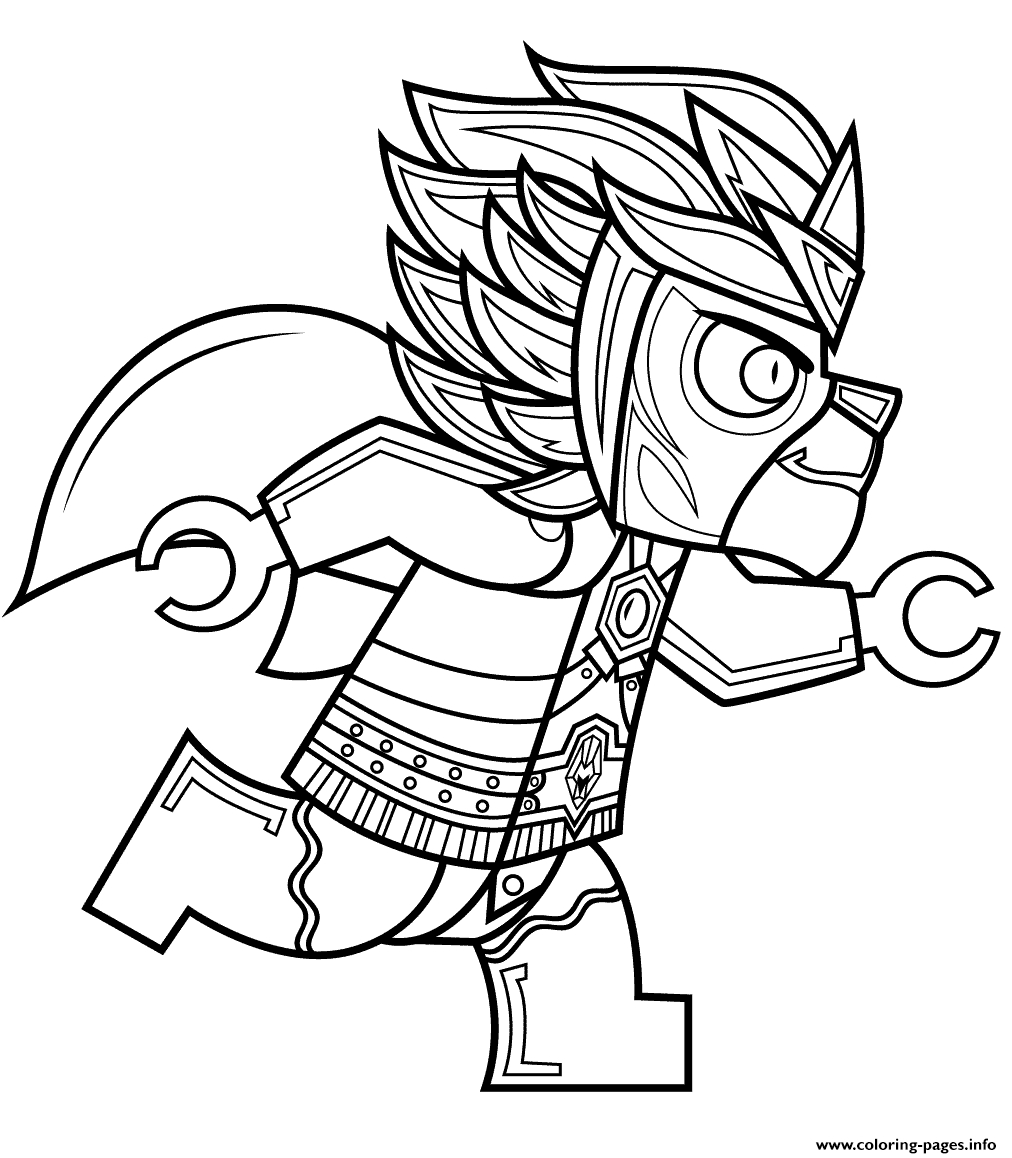 Lego Chima Laval Coloring Pages Printable - Free Printable Lego Chima Coloring Pages