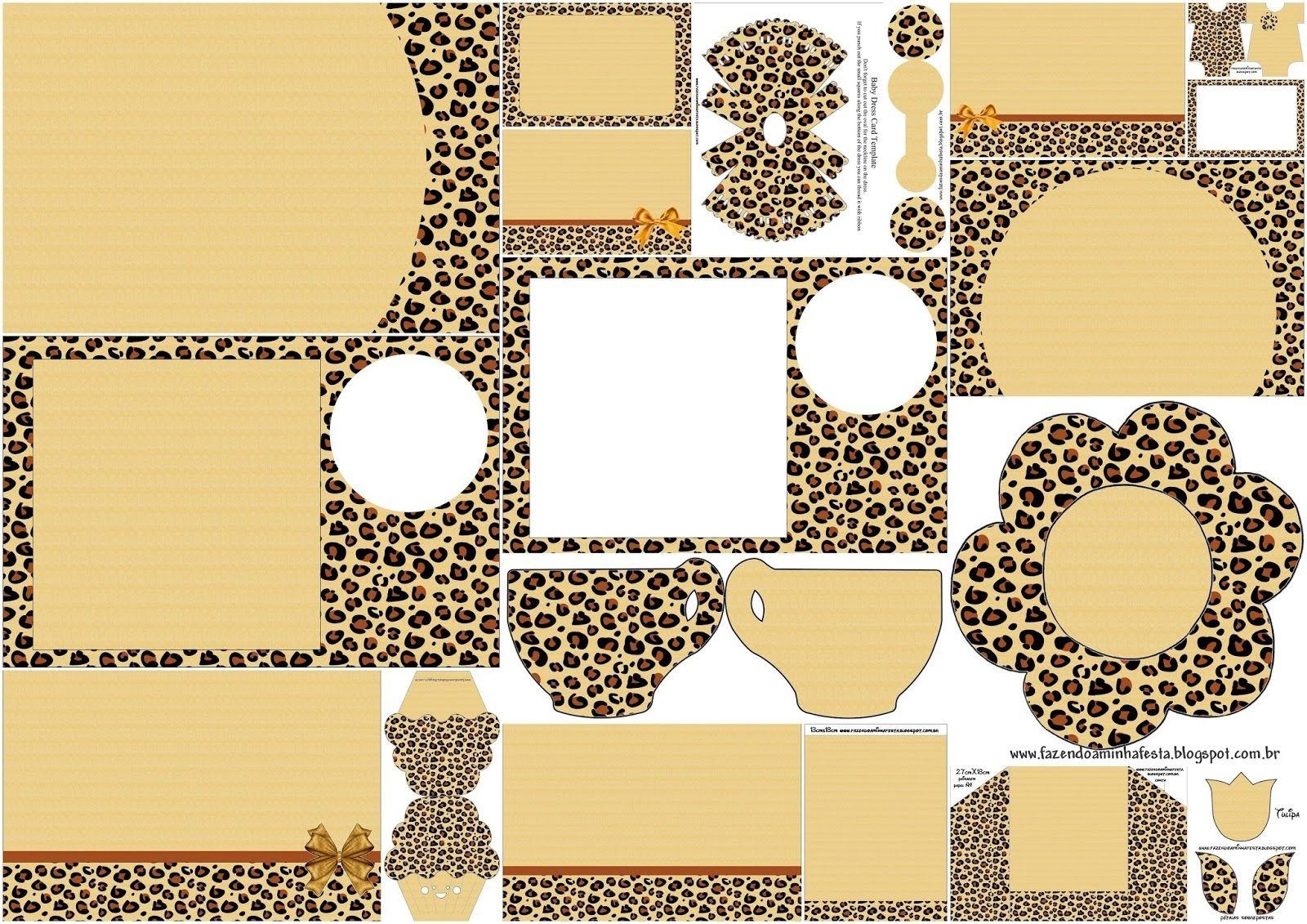 Leopard Prints: Free Printable Invitation. | Party | Free Printable - Free Printable Cheetah Birthday Invitations