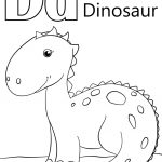 Letter D Is For Dinosaur Coloring Page | Free Printable Coloring Pages   Free Printable Dinosaur Coloring Pages
