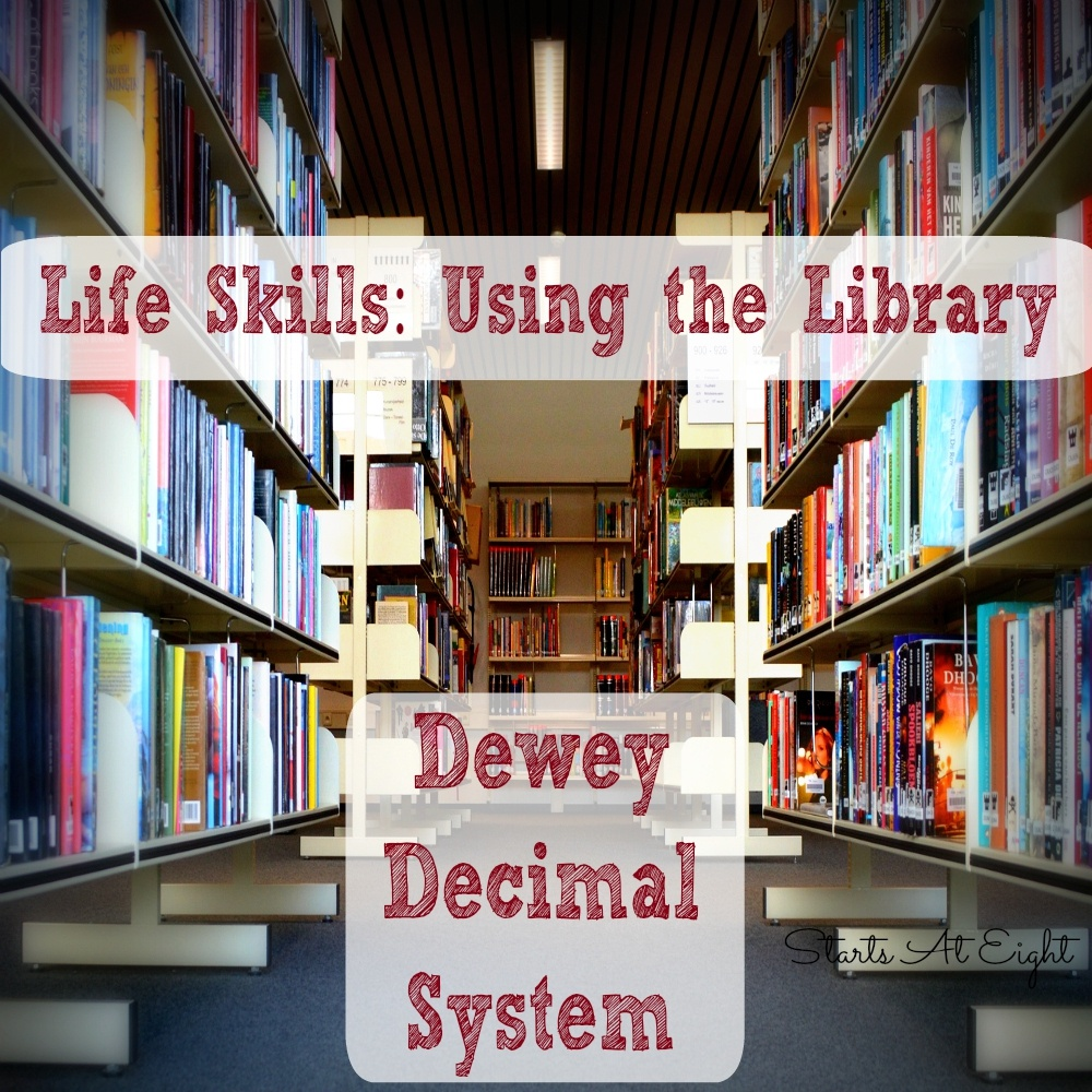 Life Skills: Using The Library - Dewey Decimal System - Startsateight - Free Printable Library Skills Worksheets