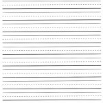 Lined Paper Printable Kindergarten   Tutlin.psstech.co   Free Printable Kindergarten Lined Paper Template