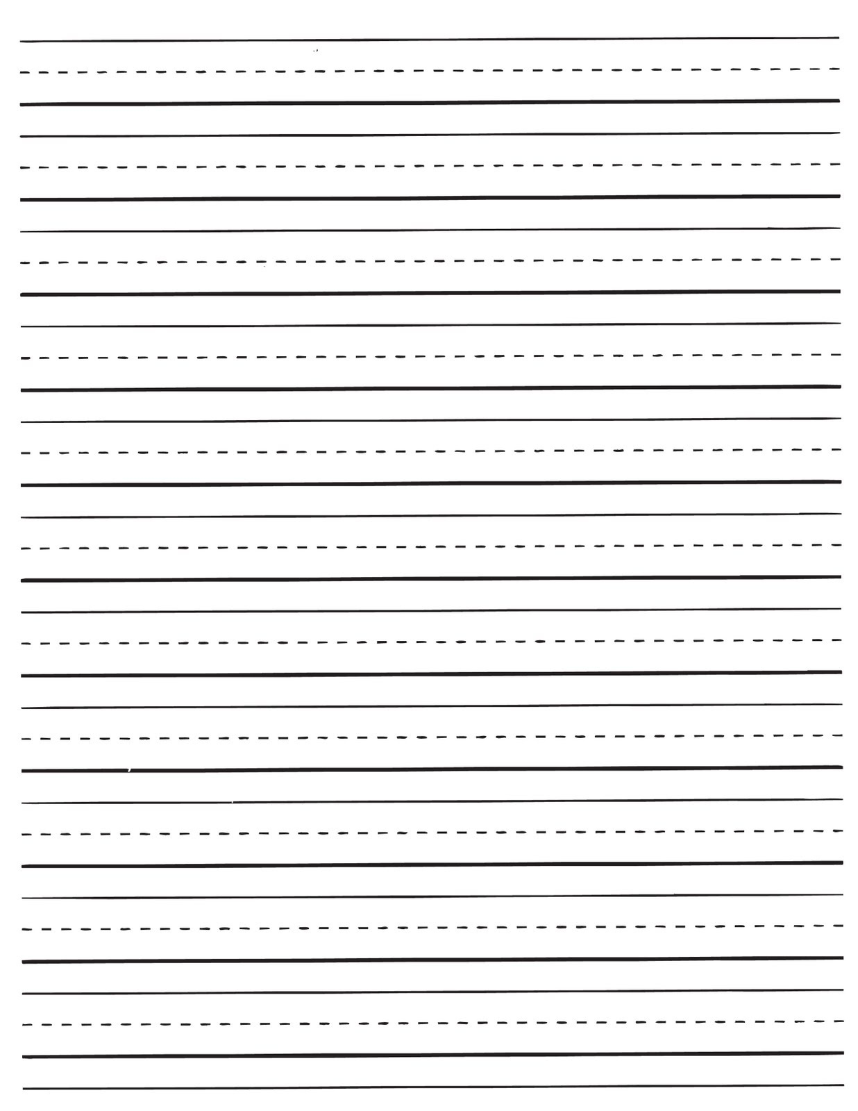 Lined Paper Printable Kindergarten - Tutlin.psstech.co - Free Printable Kindergarten Lined Paper Template