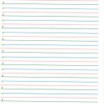 Lined Paper Writing Paper With Lines For Kindergarten Clip Art   Free Printable Kindergarten Lined Paper Template