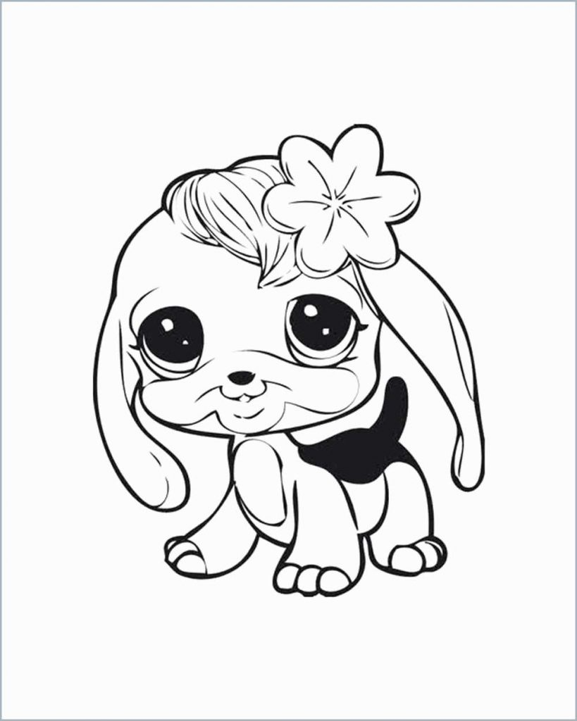 Littlest Pet Shop Coloring Pages For Kids To Print For Free Intended - Littlest Pet Shop Free Printable Coloring Pages