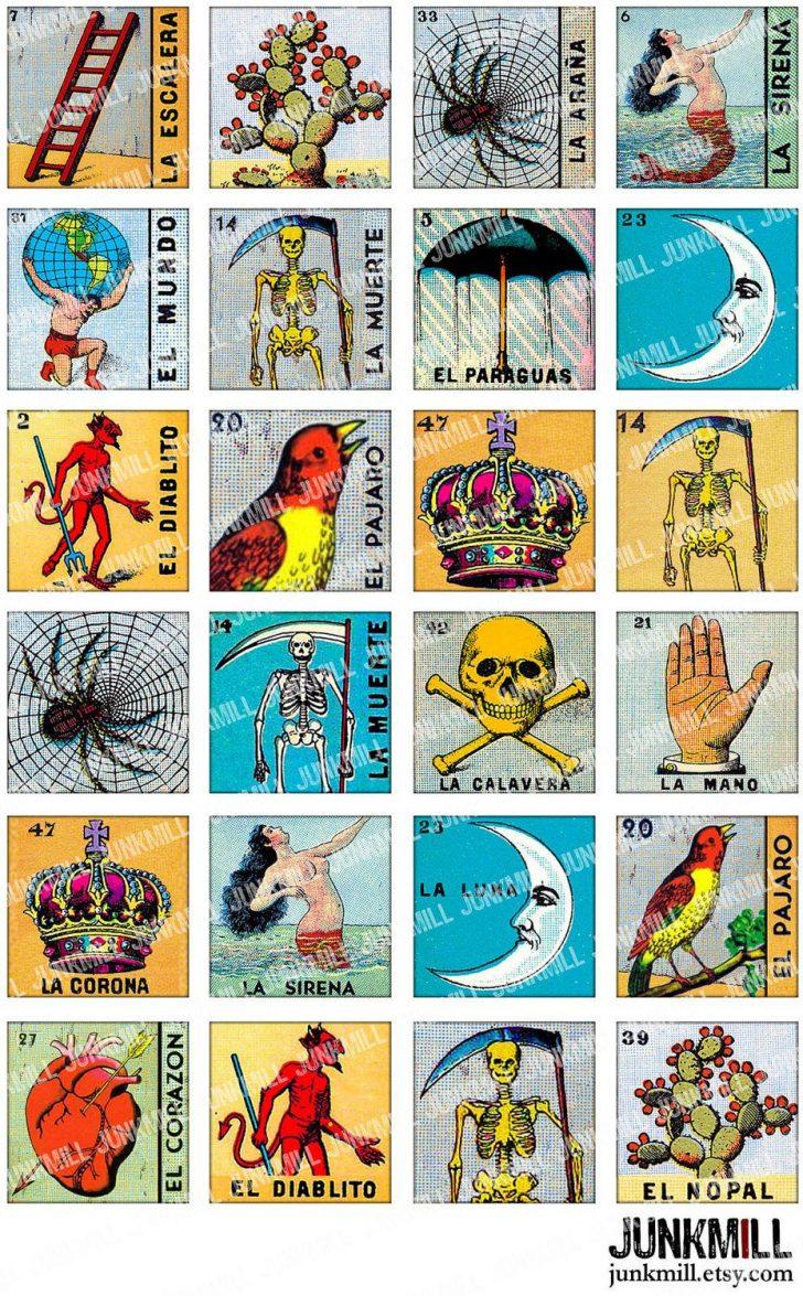 Loteria Printable Cards Free