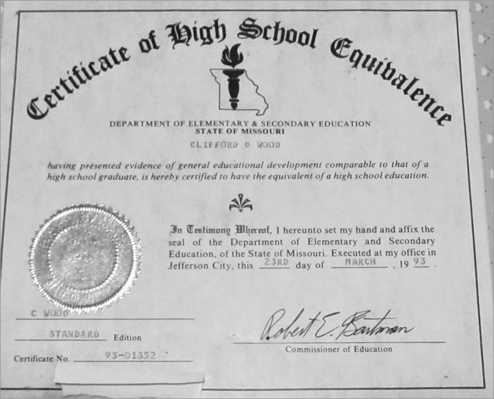 Lovely Free Fake High School Diploma Templates | Best Of Template - Printable Fake Ged Certificate For Free