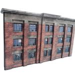 Low Relief 1930's Factory   Oo / 4Mm / 1:76 | Model Railway Scenery   Free Printable Model Railway Buildings