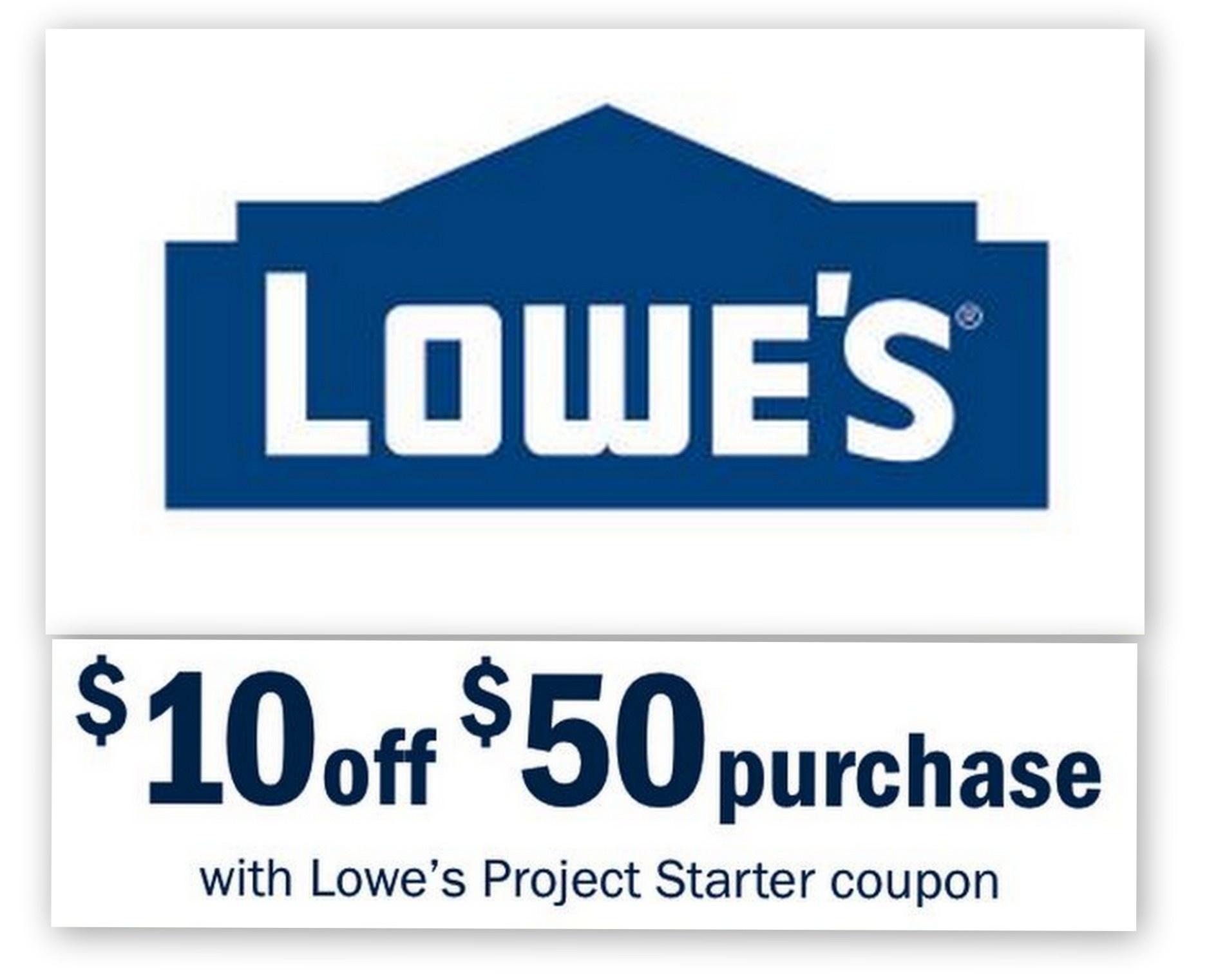 Lowes: $10 Off $50 Entire Purchase Printable Coupon | Common Sense - Free Printable Lowes Coupons