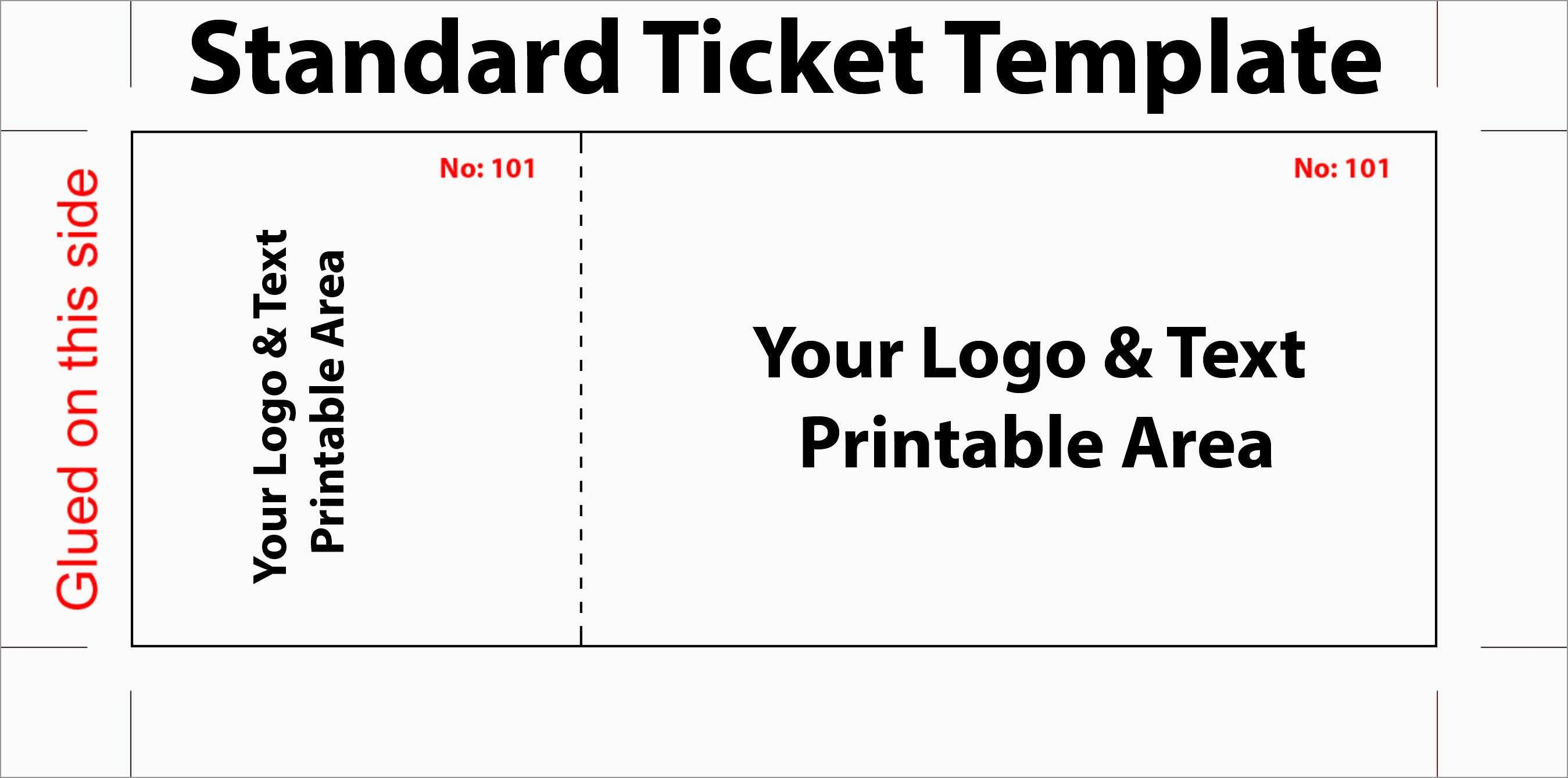 Luxury Free Printable Event Ticket Template | Best Of Template - Free Printable Admission Ticket Template