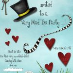 Mad Hatters Tea Party Invitation Template Free | Tea Party In 2019   Mad Hatter Tea Party Invitations Free Printable