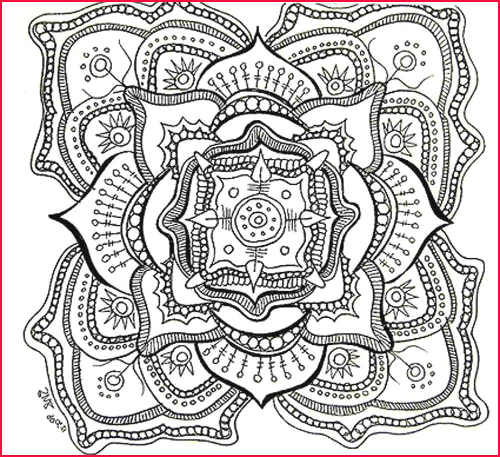 Mandala Print Coloring Pages | Coloring Pages - Free Printable Coloring Book Pages For Adults