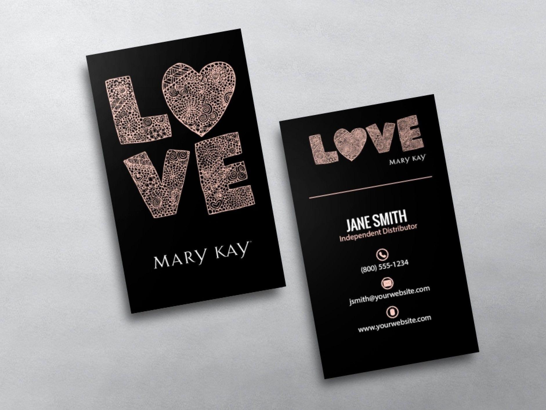 Mary Kay Business Cards In 2019 | Mary Kay | Mary Kay, Free Business - Free Printable Mary Kay Business Cards