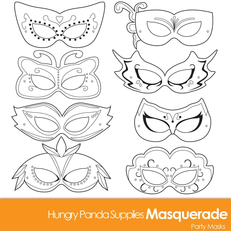 Masquerade Masks Masquerade Mask Printablehappilyafterdesigns - Free Printable Masquerade Masks
