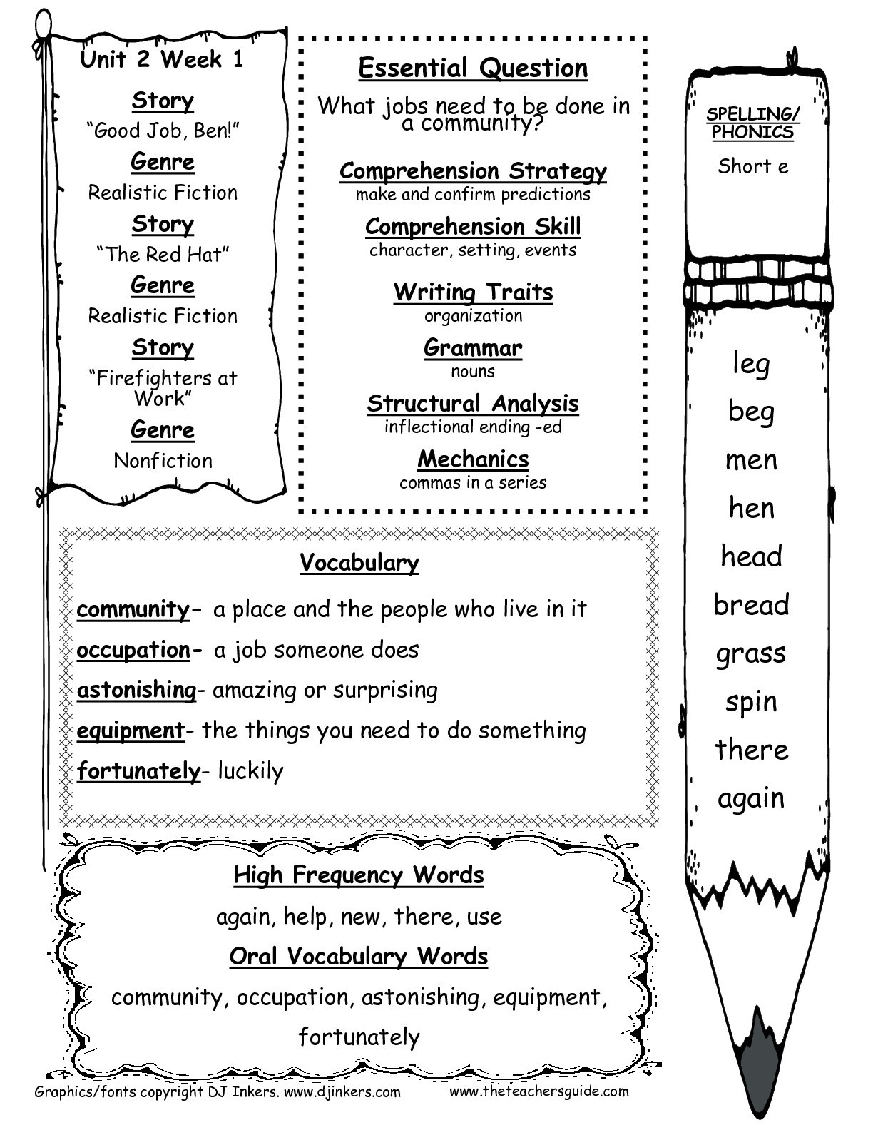 Mcgraw-Hill Wonders First Grade Resources And Printouts - Free Printable Worksheets For 1St Grade