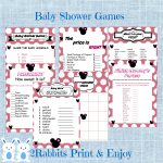 Mickey Mouse Babyshower Ideas   My Practical Baby Shower Guide   Free Printable Mickey Mouse Baby Shower Games
