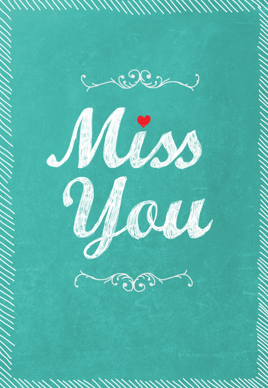 Miss You - Miss You Card (Free) | Greetings Island - Free Printable We Will Miss You Greeting Cards