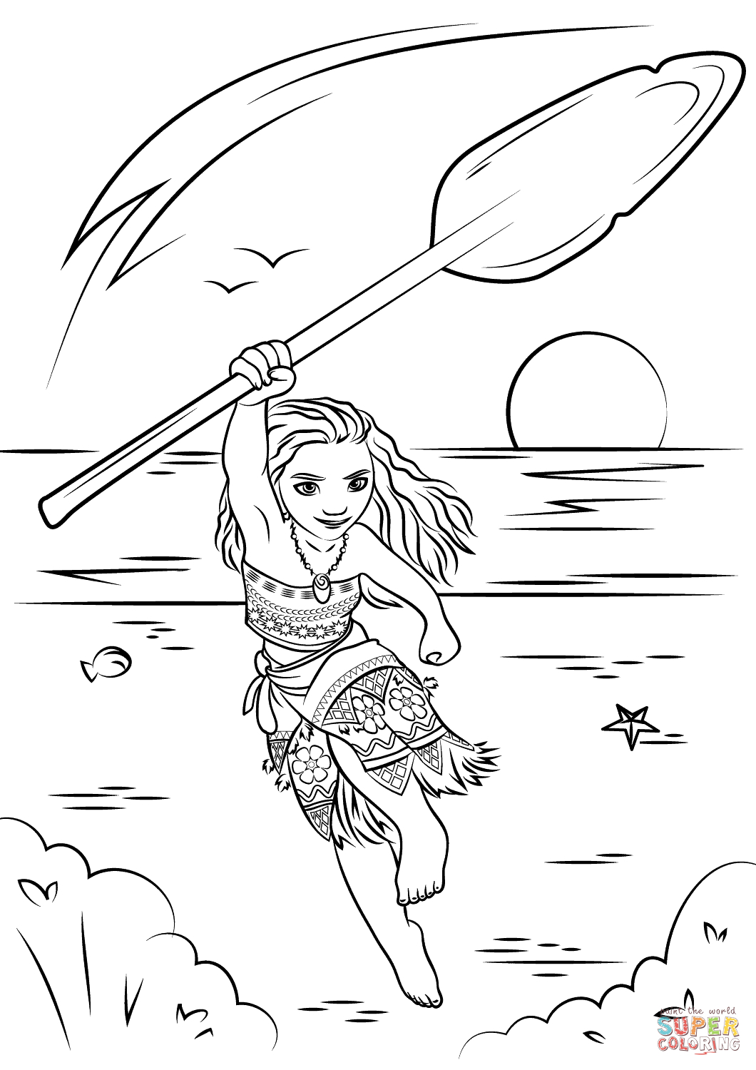 Moana Coloring Page | Free Printable Coloring Pages - Moana Coloring Pages Free Printable