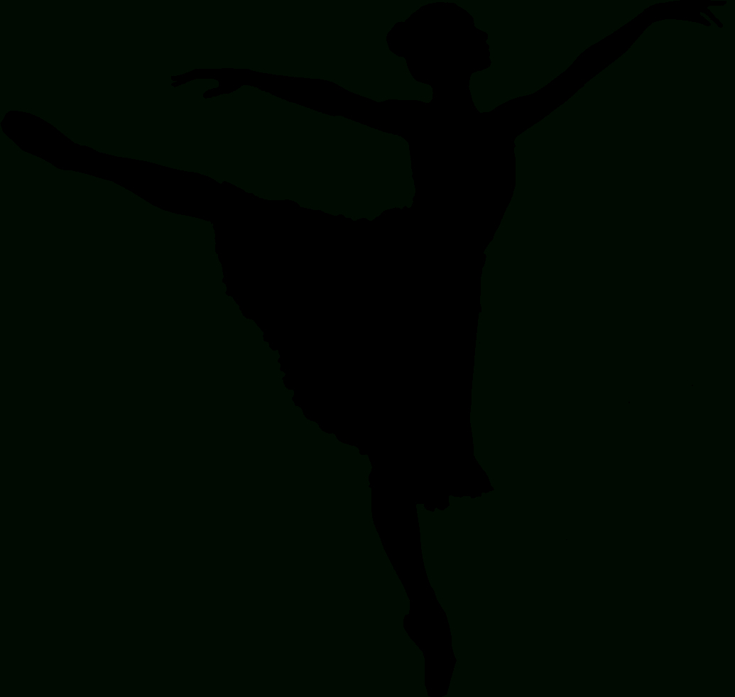 Modern Dancer Silhouette Clipart Panda Free Clipart Images   Ballet - Free Printable Ballerina Silhouette