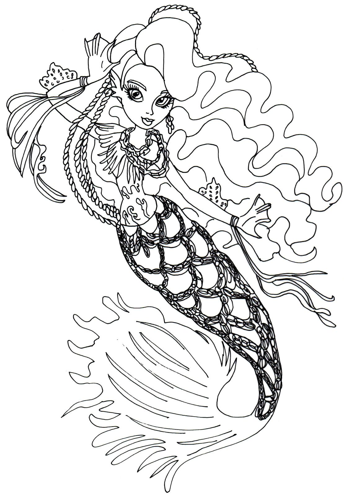 Monster High Free Printables | Free Printable Monster High Coloring - Monster High Free Printable Pictures