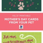 Mother's Day | Things We Love | Dog Mom, Mothers Day Cards, Dogs   Free Printable Mothers Day Card From Dog