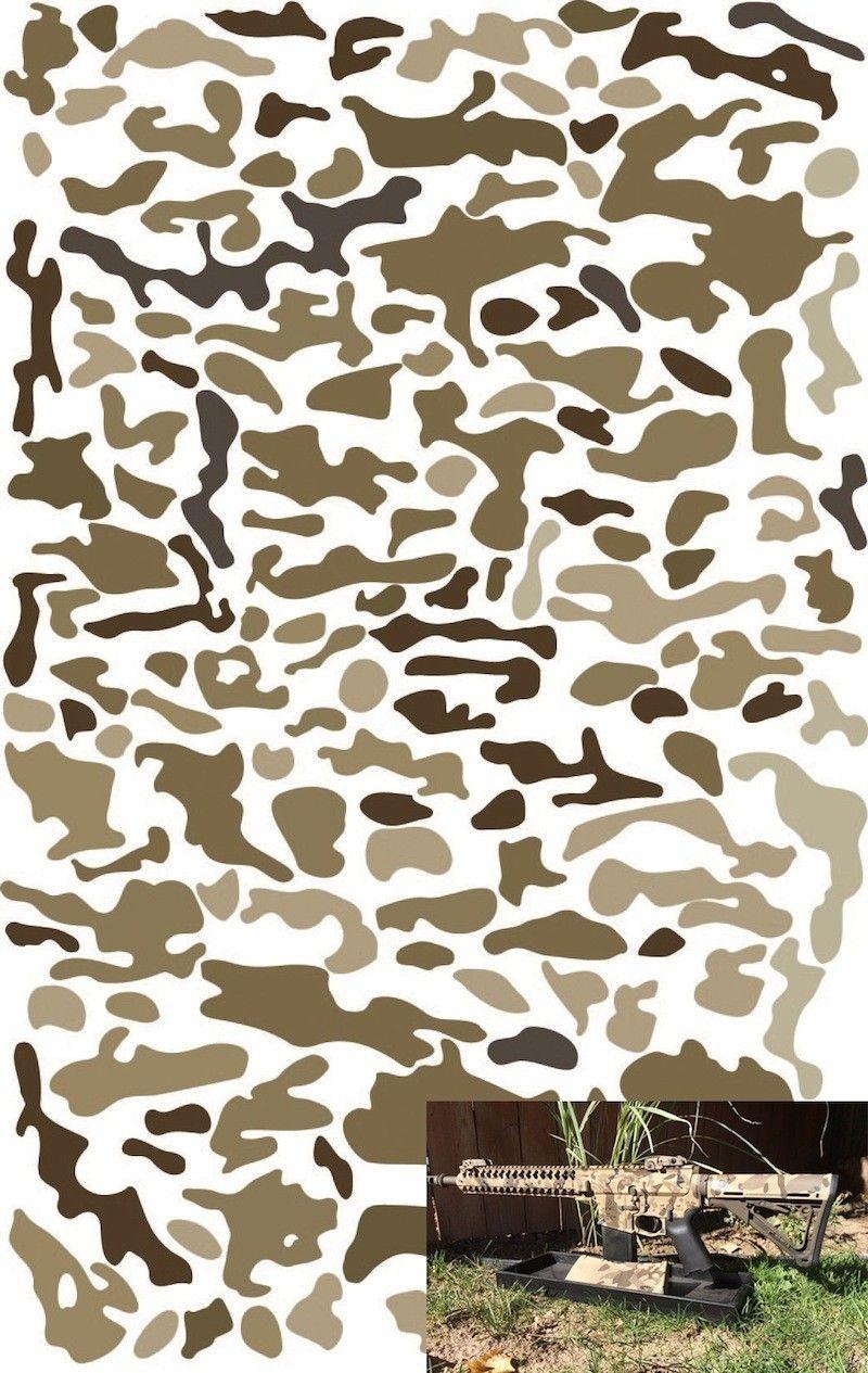 Multicam Pattern Stencils   Stencil   Camo Stencil, Cricut Stencils - Free Printable Camouflage Stencils