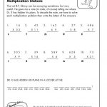 Multiply Your Way To Crack The Hidden Code! | Printable Math Sheets - Crack The Code Worksheets Printable Free