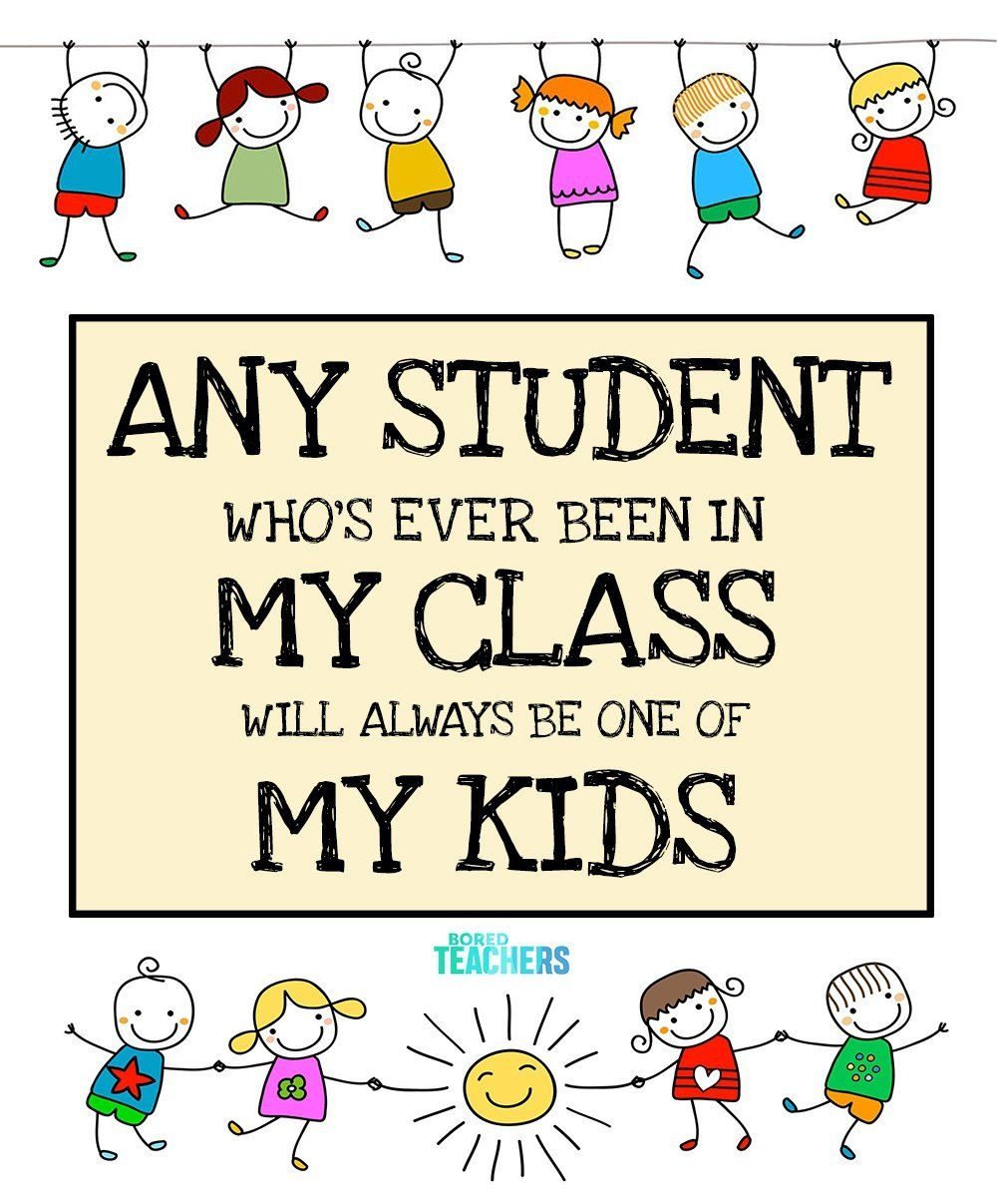 My Class, My Kids | Free Printables | Classroom Poster | Bored - Free Printable Posters For Teachers