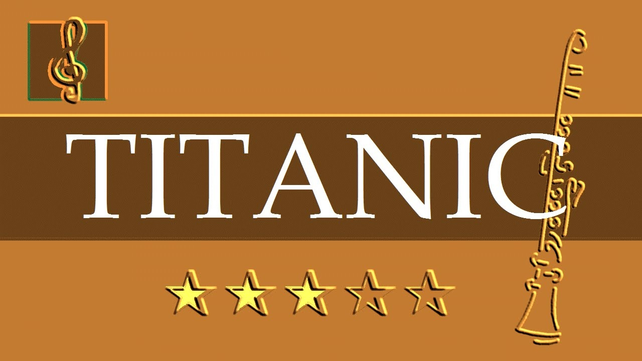My Heart Will Go On Clarinet Sheet Music – Titanic – Guitar Chords - Free Printable Clarinet Sheet Music