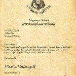 My Hogwarts Acceptance Letter Sadly My Owl Died From The Long Fly   Hogwarts Acceptance Letter Template Free Printable