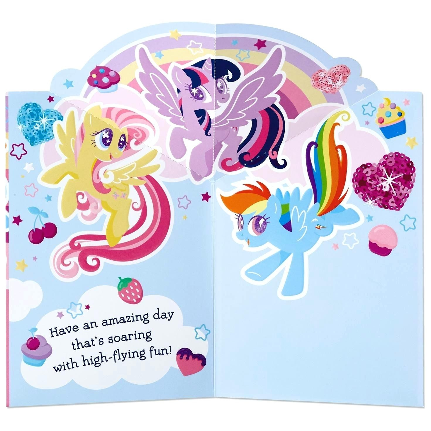 My Little Pony Birthday Cards Free Printable My Little Pony Birthday - Free Printable My Little Pony Thank You Cards