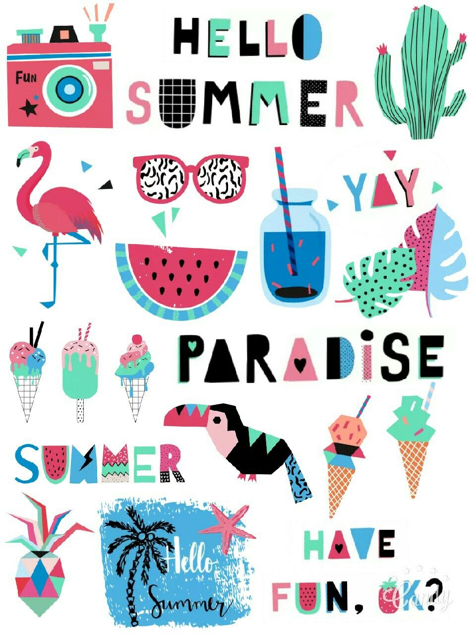 My Paradise Free Stickers Printable… | Printable Stickers - Free Printable Scrapbook Stuff