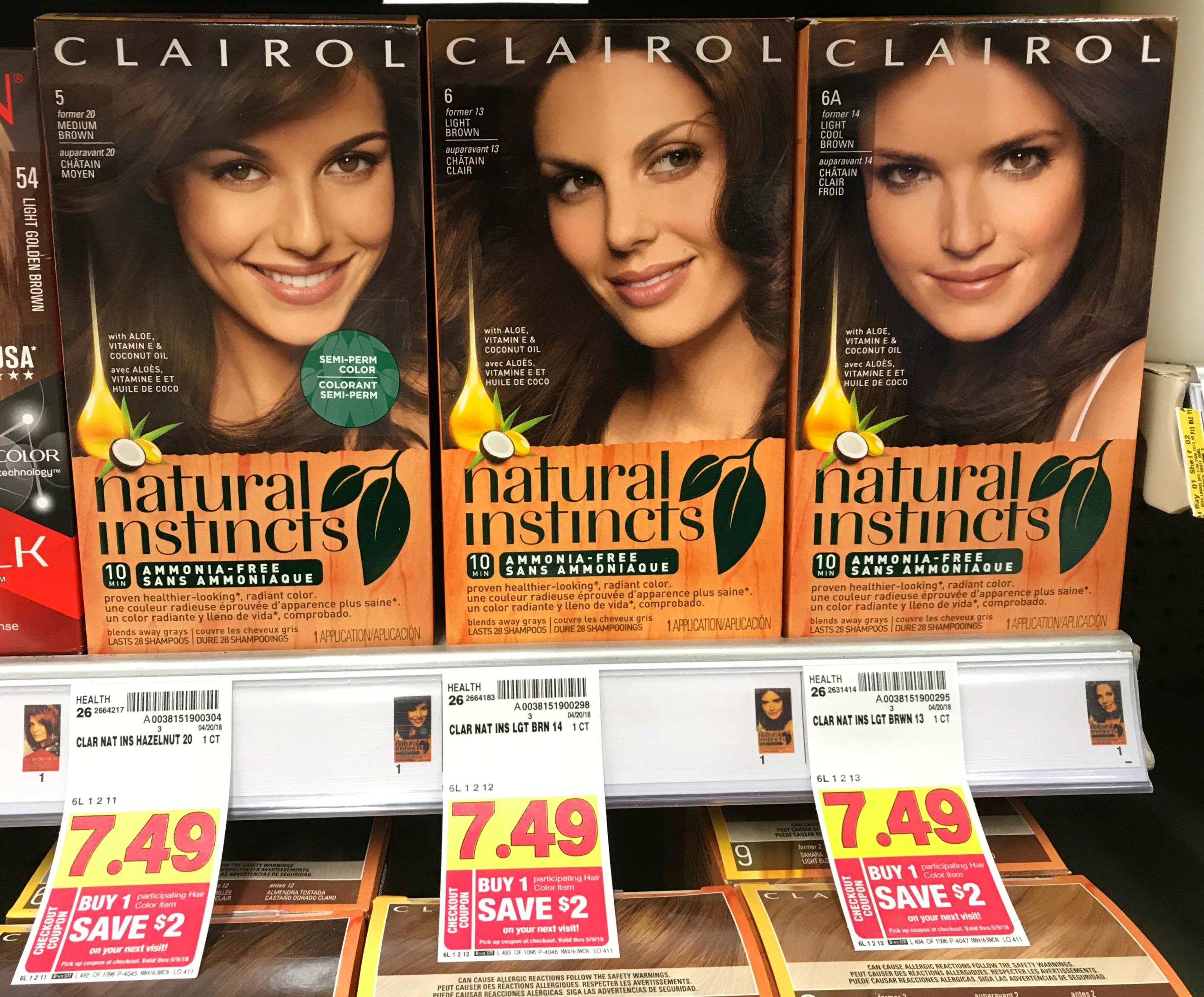 New Clairol Coupon + Catalina = Free Hair Color At Kroger!!   Kroger - Free Hair Dye Coupons Printable