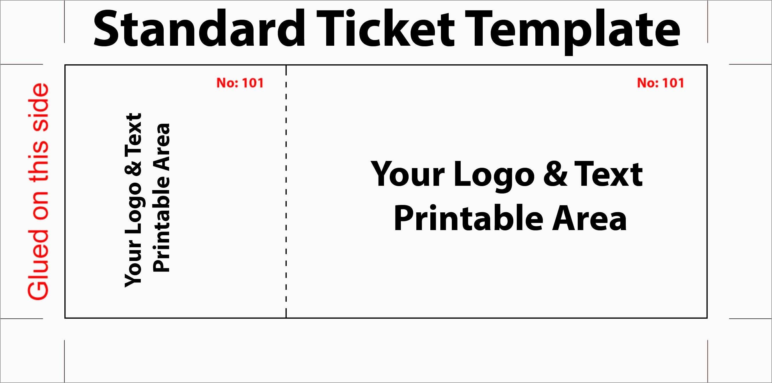 New Free Printable Raffle Ticket Template Download | Best Of Template - Free Printable Raffle Ticket Template Download