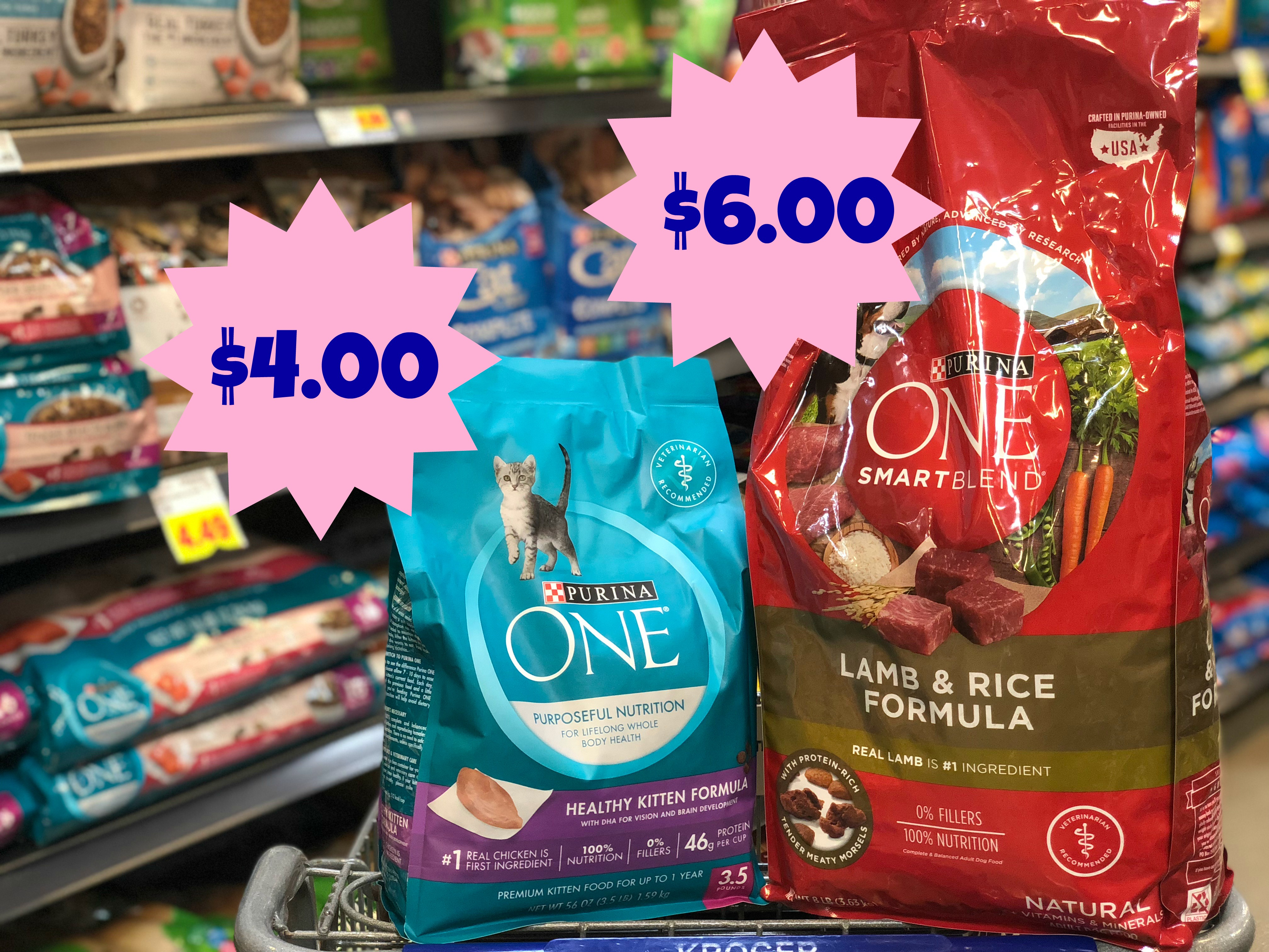 New Purina One Coupons | Dry Cat Food = $4.00 And Dry Dog Food - Free Printable Coupons For Purina One Dog Food