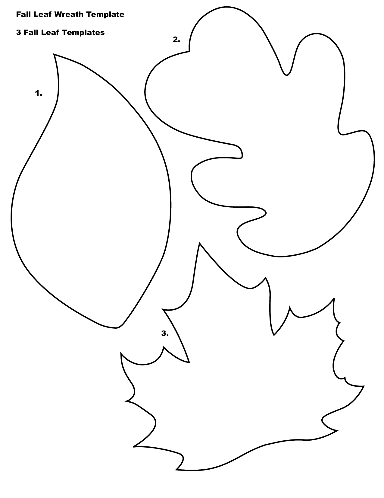 Nice Maple Leaf Outline Template The Hippest Galleries   Mcoloring - Free Printable Leaf Coloring Pages