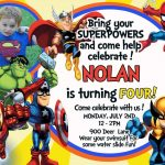 Nice Tips For Choosing Avengers Birthday Invitations Free   Avengers Party Invitations Printable Free