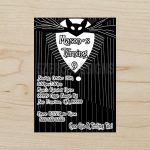Nightmare Before Christmas Party Invitations Nightmare Before | Etsy   Free Printable Nightmare Before Christmas Birthday Invitations