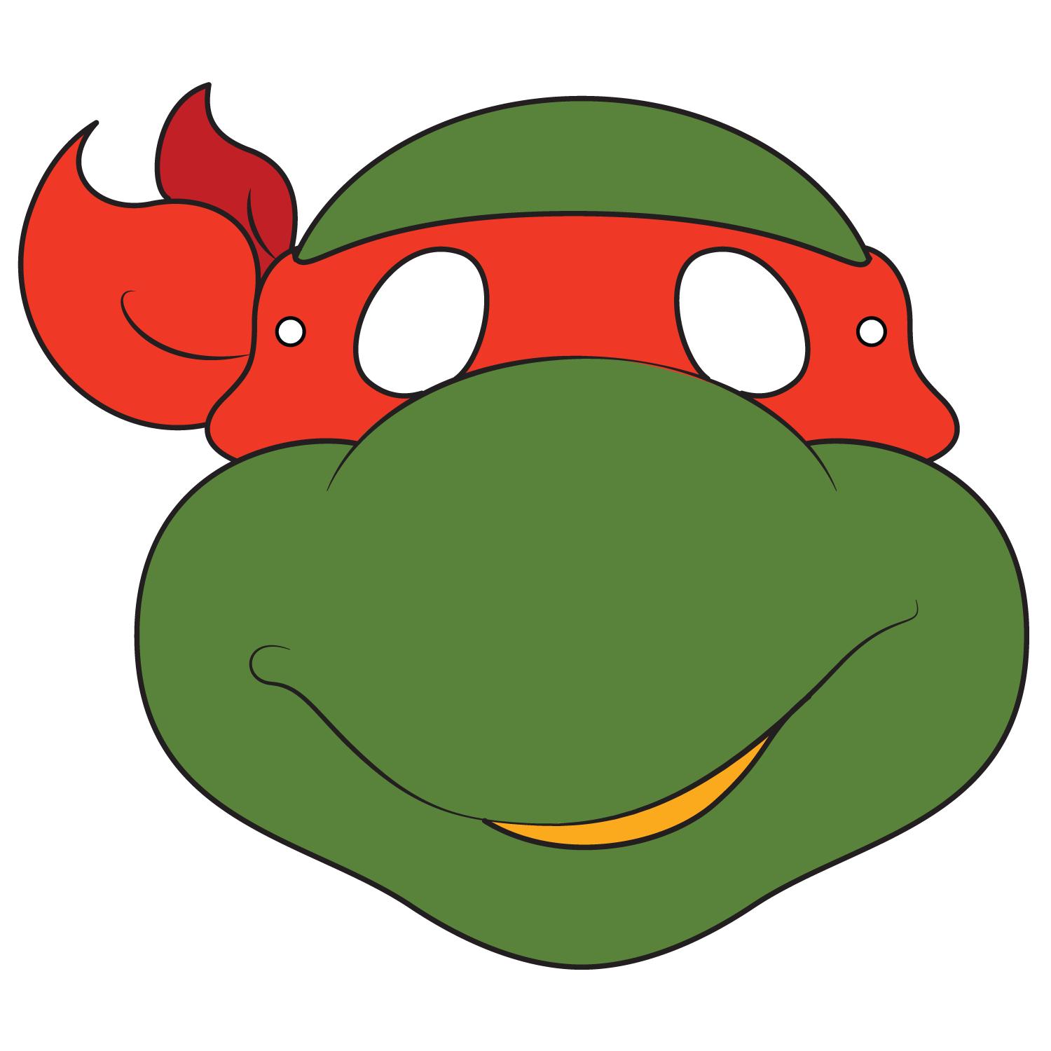 Ninja Turtles Mask Template | Free Printable Papercraft Templates - Teenage Mutant Ninja Turtles Free Printable Mask