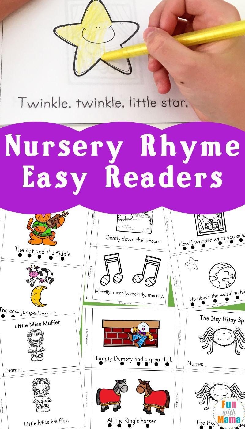 Nursery Rhyme Easy Reader Books | Little Books | Nursery Rhymes - Free Printable Nursery Rhymes