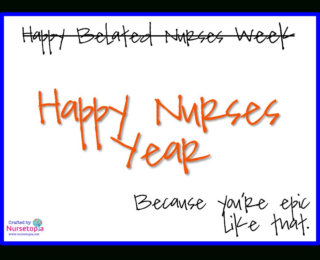 Nurses Week – Nursetopia - Nurses Week 2016 Cards Free Printable