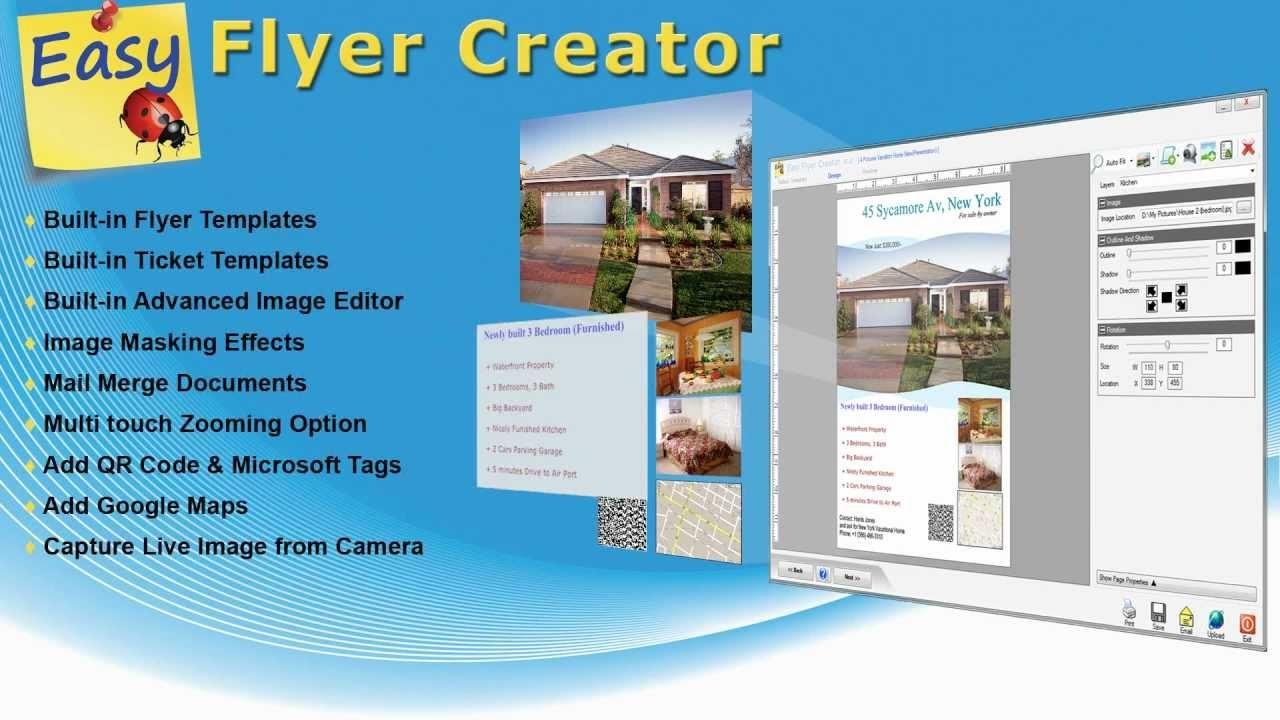 Online Flyer Maker For Free - Tutlin.psstech.co - Free Printable Flyer Maker Online