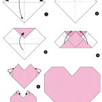 Origami Heart Instructions From Origami (Paper Folding) Category - Printable Origami Instructions Free