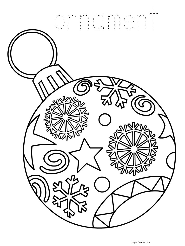 Ornaments Free Printable Christmas Coloring Pages For Kids | Paper - Free Printable Christmas Coloring Pages And Activities