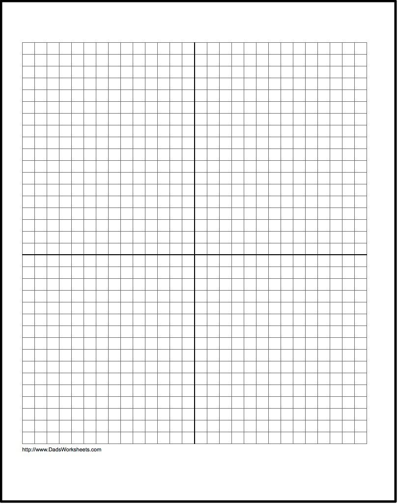 Our Free Printable Graph Paper Contains Both Metric And Customary - Free Printable Graph Paper With Numbers