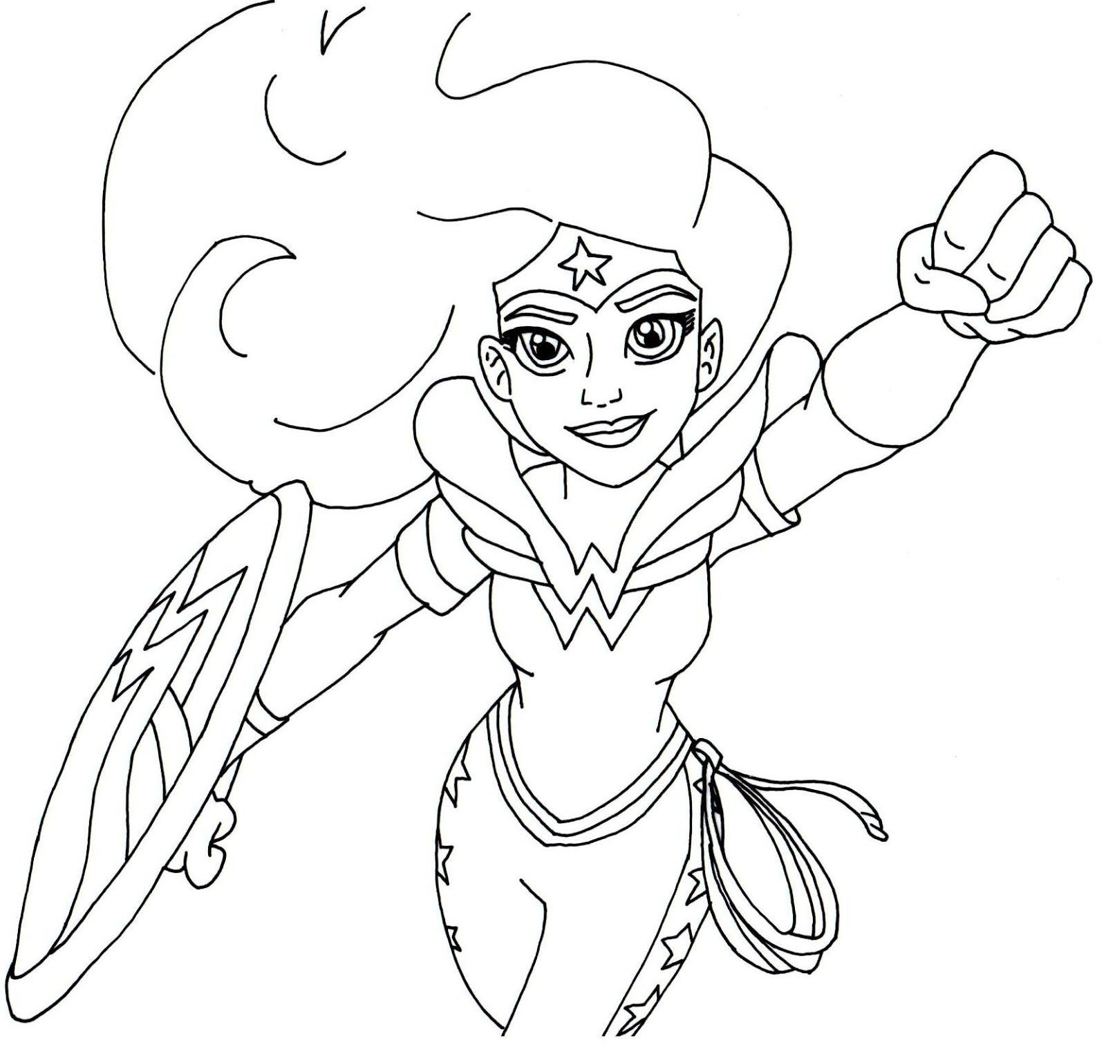 Outline Of A Boy And Girl Coloring Pages Unique Free Printable Super - Free Printable Superhero Coloring Pages