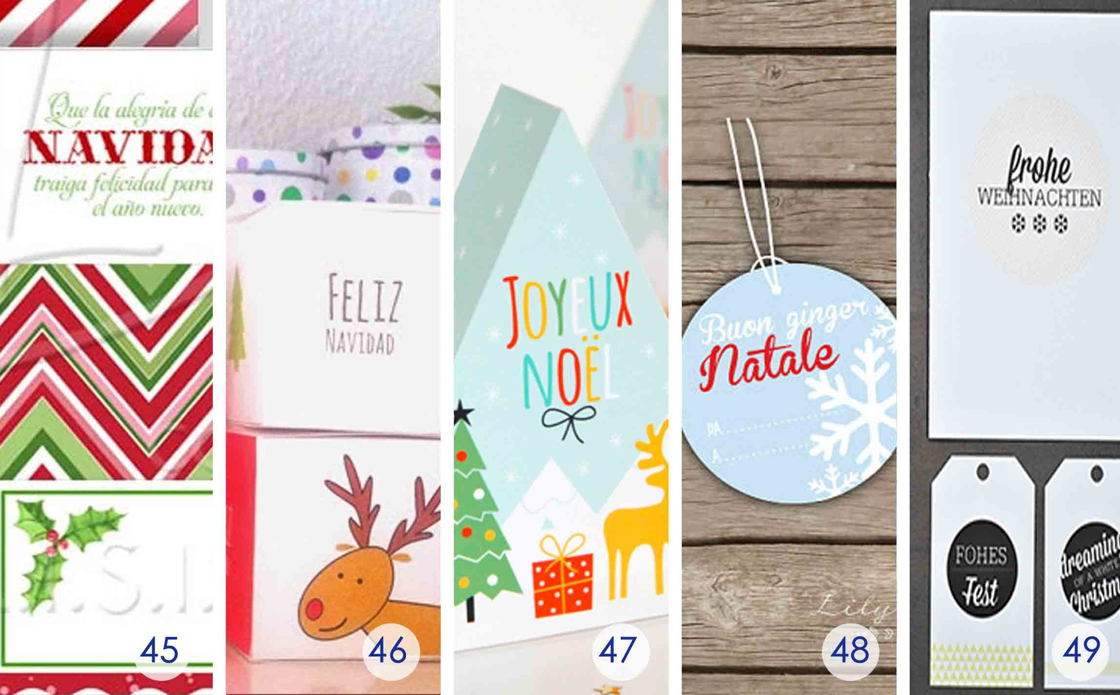 Over 50 Printable Gift Card Holders For The Holidays | Gcg - Free Printable Christmas Money Holder Cards